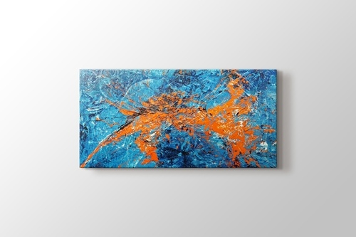 Picture of Orange Cyan Abstract