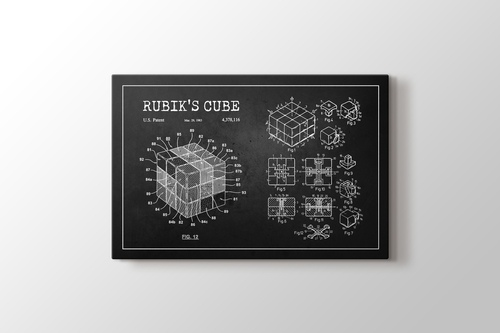 Picture of Rubik's Cube Patent