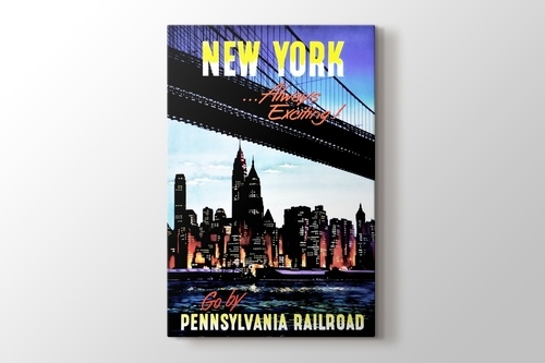 Picture of New York by Pennsylvania Railroad