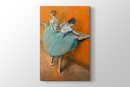 Picture of Edgar Degas - Bailarinas en la barra