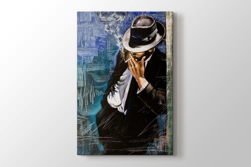 Picture of Man with Cigarette