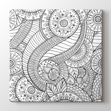 Mandala & Coloring Canvas Prints - PlusCanvas