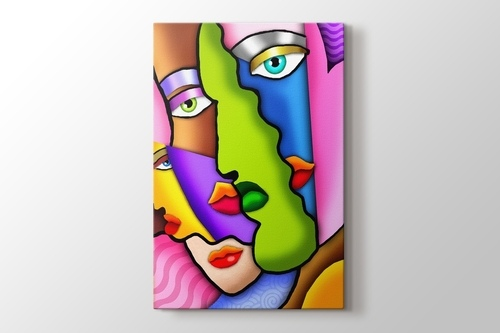 Picture of Faces in Colors