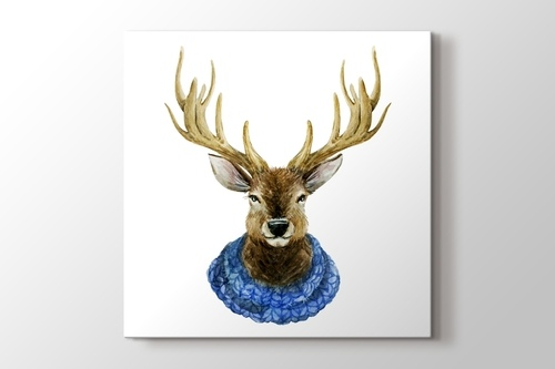 Picture of Watercolor Handsome Deer