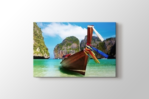 Picture of Phuket - Boat on the Lake
