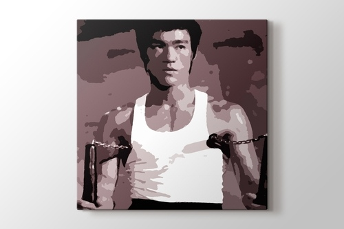 Picture of Bruce Lee - Nunchaku