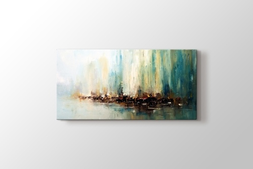 Picture of Oil Painting Abstract Pier