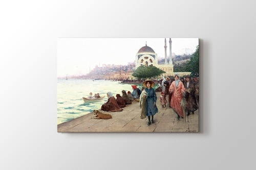 Picture of Mafalda on the Banks of the Bosphorus