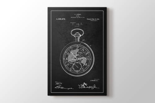 Picture of Watch Patent