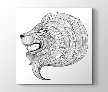 Lion Canvas Print Pluscanvas
