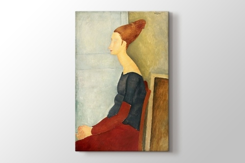 Picture of Amedeo Modigliani - Portrait de Jeanne Hebuterne