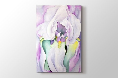 Picture of Georgia O'Keeffe - White Iris