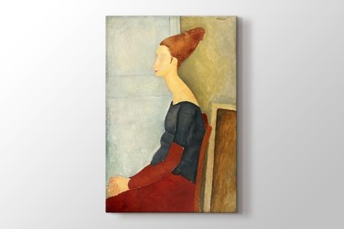 Picture of Amedeo Modigliani - Portrait de Jeanne Hebuterne