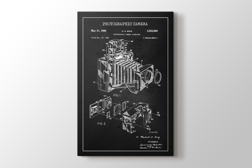 Picture of Photographic Camera Patent