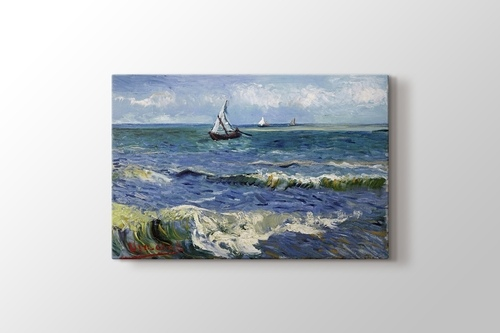 Picture of Seascape near Les Saintes-Maries-de-la-Mer