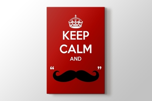 Picture of Keep Calm and Mustage