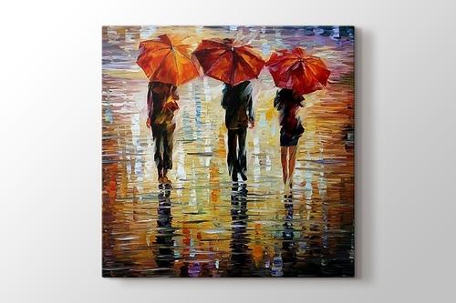 Picture of Red Umbrellas