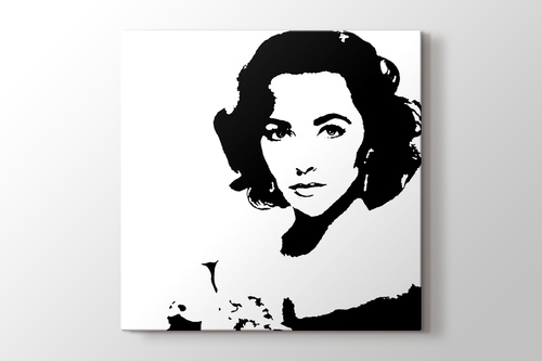 Picture of Elizabeth Taylor - Pop Art
