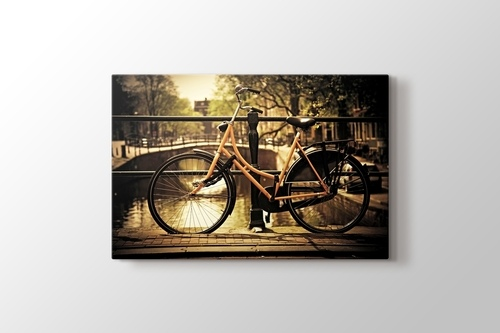 Picture of Romantic Canal and Bike