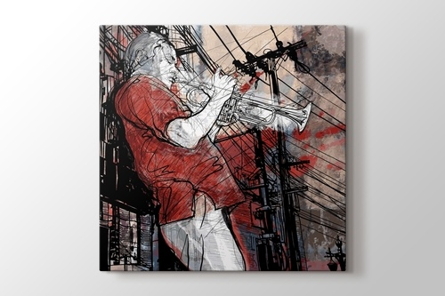 Picture of Trumpet Player