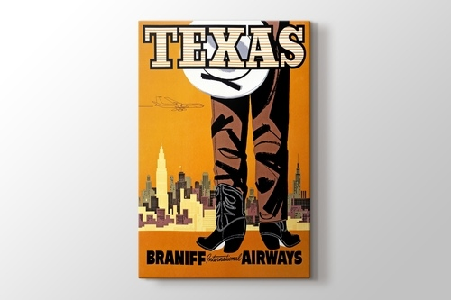 Picture of Texas Airlines Vintage Poster