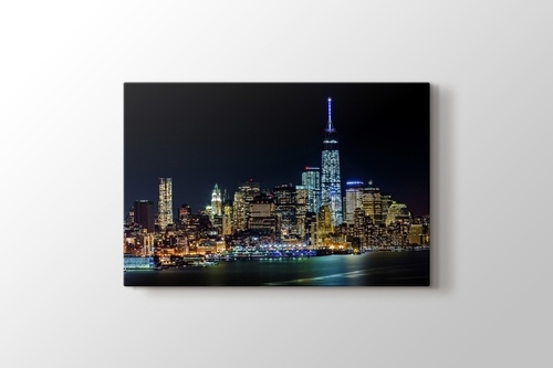 Picture of Manhattan  Night Lights