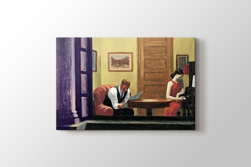 Picture of Edward Hopper - Room in New York