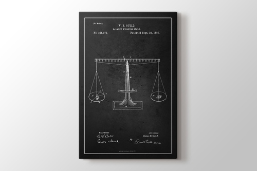 Picture of Balance Scale Patent