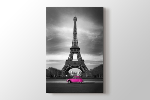 Picture of Eiffel Pink Car