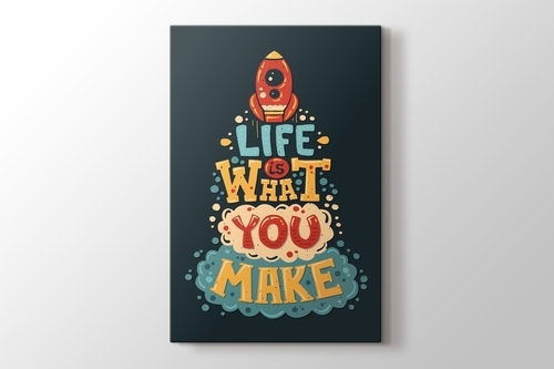Picture of Life is what you make