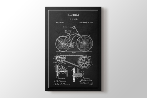 Picture of Bicycle Patent