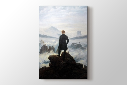 Picture of Wanderer above the sea of fog