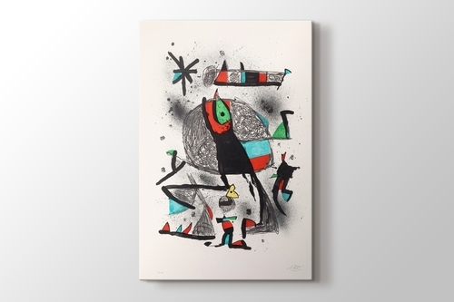 Picture of Joan Miro - Paysanne Aux Oiseaux