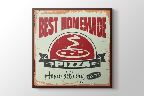 Picture of Vintage Pizza Poster