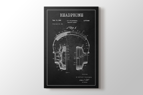 Picture of Headphone Patent