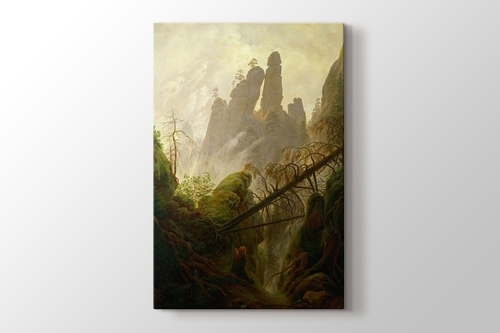 Picture of Rocky Landscape in the Elbe Sandstone Mountains