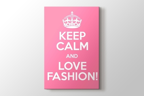 Picture of Keep Calm and Love Fashion