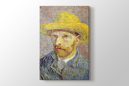 Picture of Self Portrait with Straw Hat 1887 Metropolitan