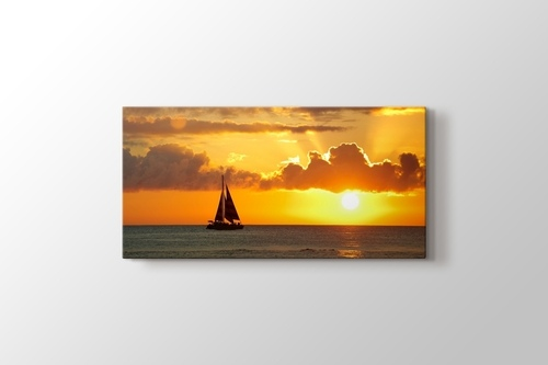 Picture of Sailing Sunset