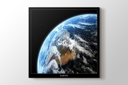 Picture of Earth from The Moon