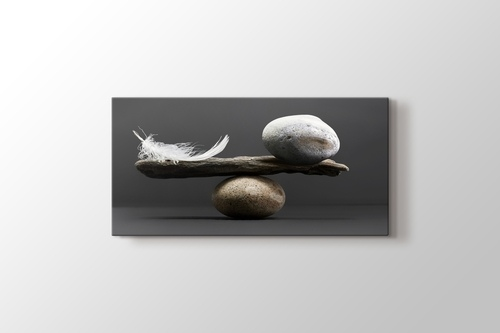 Picture of Pebble and Feather
