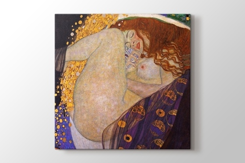 Picture of Gustav Klimt - Danae