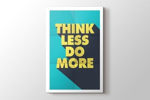 Picture of Think Less Do More