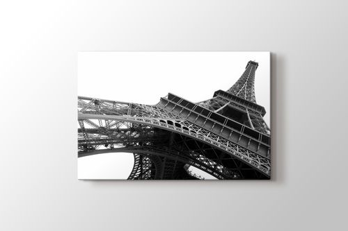 Eiffel Tower Perspective Paris Canvas Print - PlusCanvas