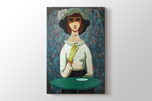 Picture of Woman with Cigarette 2