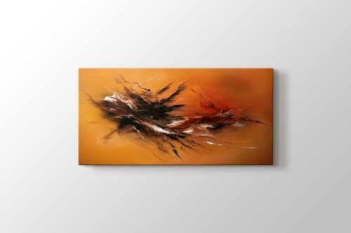 Picture of Orange and Black Improvisation