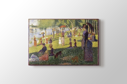 Picture of A Sunday Afternoon on the Island of La Grande Jatte