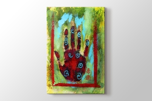 Picture of Painted Hand