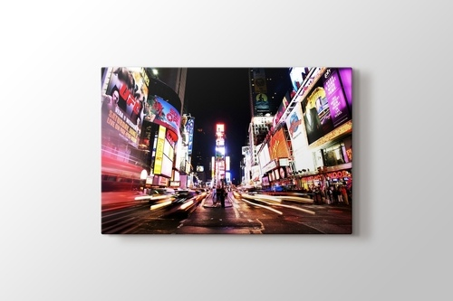 Picture of Times Square in Colors