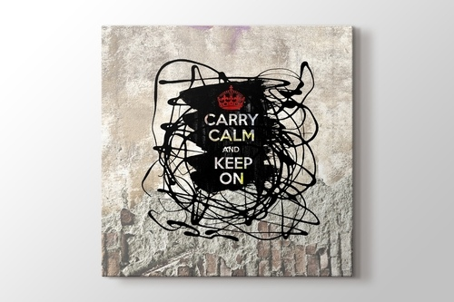 Picture of Carry Calm And Keep On